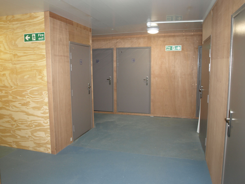 Storage Barn Interior